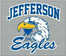 Eagle with Jefferson Eagles words.